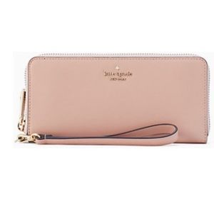 Kate Spade Connie Continental Wallet Rosy Cheeks